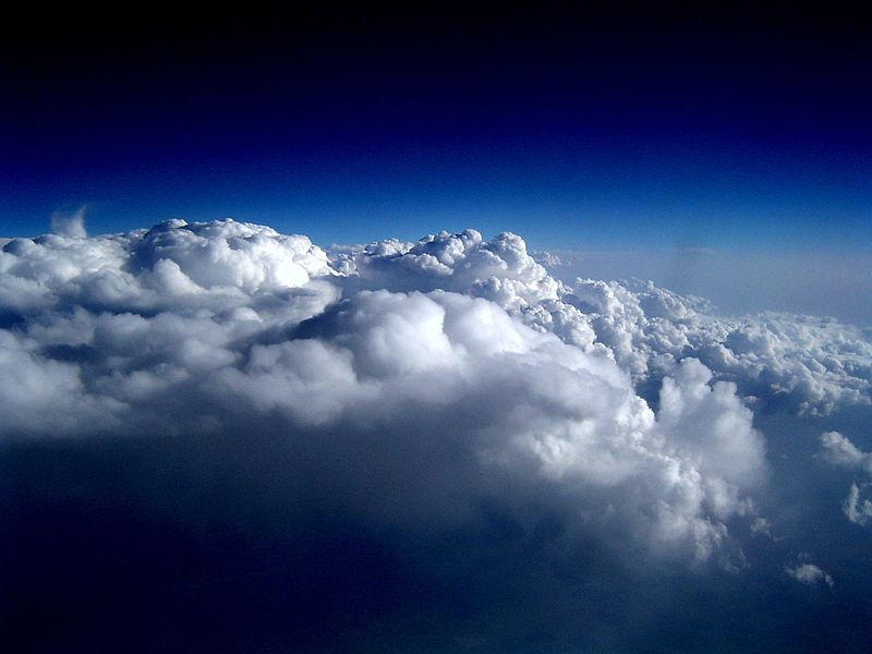 File:Cloud From Plane Window.jpg