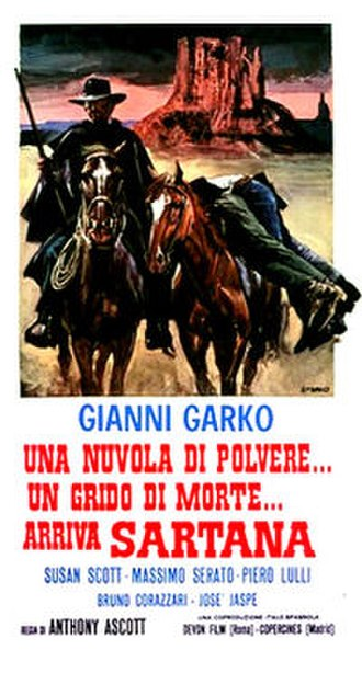 Cloud of Dust... Cry of Death... Sartana Is Coming - Image: Cloud of Dust... Cry of Death... Sartana Is Coming