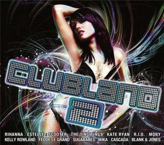 Clubland (dance brand) - The international cover of Clubland 2, released in Germany, with the cover design of Ultimate NRG 3 which was released in the UK.