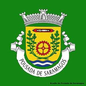 Pousada de Saramagos - Image: Coat of arms pousada de saramagos