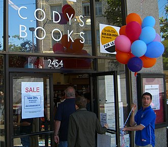 Cody's Books - Image: Codys Closing Sale