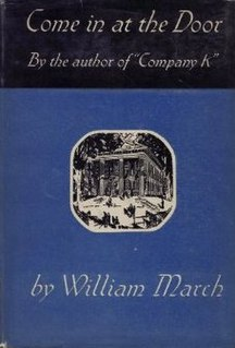 <i>Come in at the Door</i> book by William March