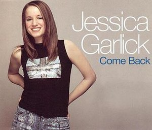 Come Back (Jessica Garlick song) - Image: Come Back