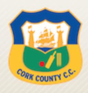 Cork County Cricket Club - Image: Cork County Cricket Club badge