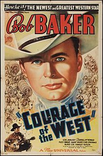 <i>Courage of the West</i> 1937 film by Joseph H. Lewis