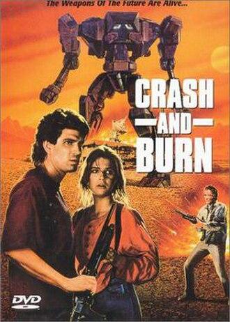 Crash and Burn (1990 film) - DVD artwork