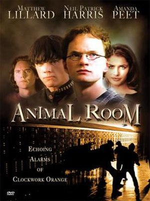 Animal Room - Image: DVD cover of the movie Animal Room