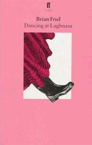 Dancing at Lughnasa - Faber and Faber 1990 cover