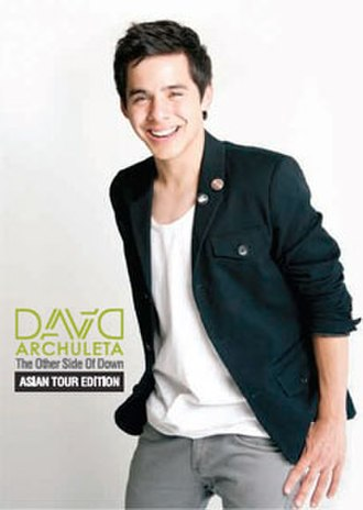 The Other Side of Down - Image: David Archuleta Asian Tour poster