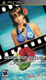 <i>Dead or Alive Paradise</i> video game