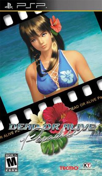 Dead or Alive Paradise - North American cover art