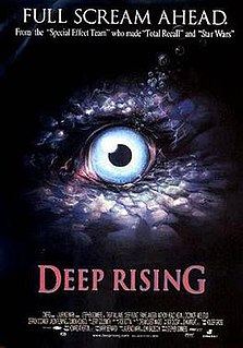 <i>Deep Rising</i> 1998 film by Stephen Sommers