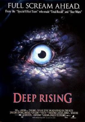 Deep Rising - Theatrical released poster