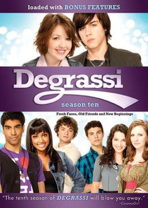 Degrassi (season 10) - Degrassi season 10 Part 1 DVD