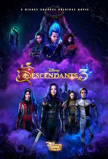 <i>Descendants 3</i> 2019 Disney Channel Original Movie directed by Kenny Ortega