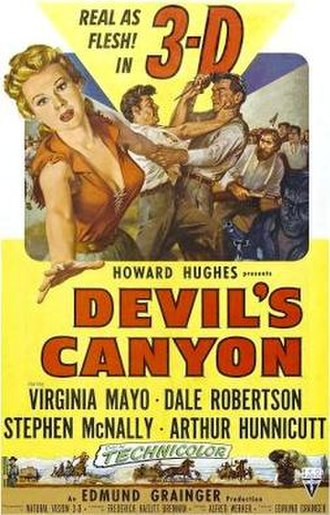 Devil's Canyon (1953 film) - Theatrical release poster