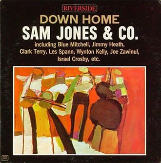 Down Home (Sam Jones album) - Image: Down Home (Sam Jones album)