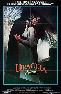 <i>Dracula Sucks</i> 1979 film