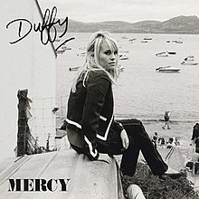 Duffy on the cover of her No. 1 single,