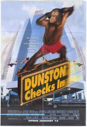 Dunston Checks In - Promotional poster