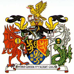 Arms of Dyfed County Council