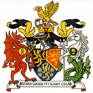 Dyfed - Arms of Dyfed County Council