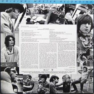 Eddie Hoh - Super Session back cover with Eddie Hoh near upper-right corner.