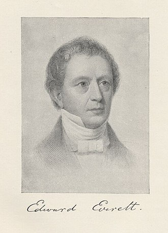 Edward Everett - Portrait c. 1850 by R. M. Staigg