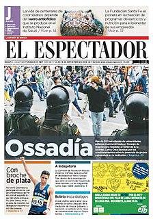 <i>El Espectador</i> Colombian newspaper