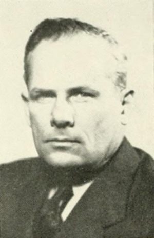 Elbert Caraway - Caraway pictured in Epitome 1946, Lehigh yearbook