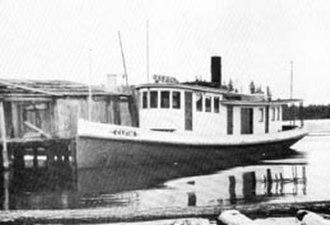 Elfin (steamboat) - Image: Elfin (steamboat) before reconstruction