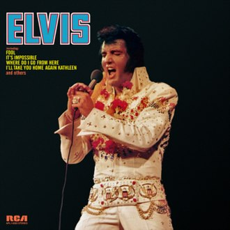 Elvis (1973 album) - Image: Elvis fool album