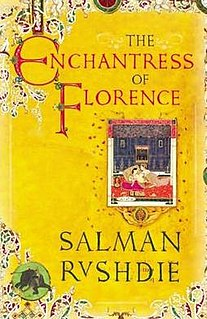 <i>The Enchantress of Florence</i> book by Salman Rushdie