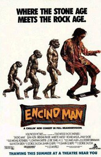Encino Man - Theatrical release poster