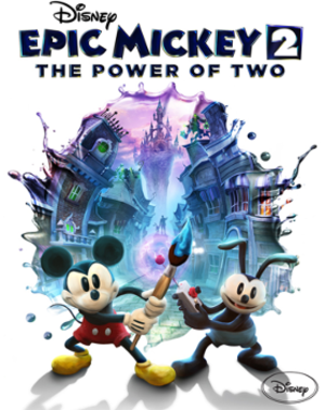 Epic Mickey 2: The Power of Two - Image: Epic Mickey 2 Boxart