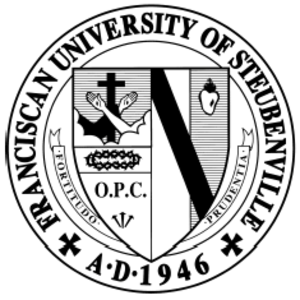 Franciscan University of Steubenville - Image: FUS Seal