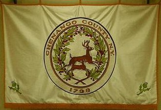 Chenango County, New York - Image: Flag of Chenango County, New York