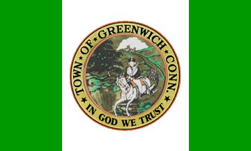 Flag of Greenwich, Connecticut