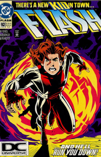 Bart Allens Debut As Impulse On The Cover Of Flash Vol 2 92 Jul 1994