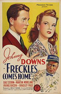 <i>Freckles Comes Home</i> 1942 film by Jean Yarbrough