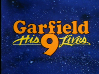 Garfield: His 9 Lives - Title Card
