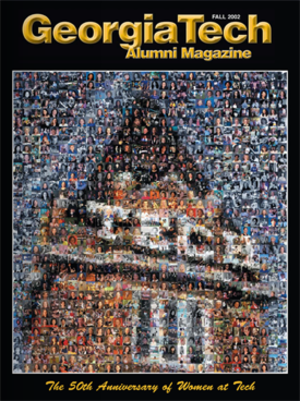 Georgia Tech Alumni Association - The Fall 2002 cover of the Georgia Tech Alumni Magazine