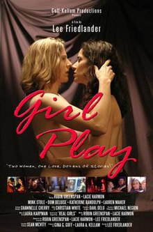Lesbian girls play twister