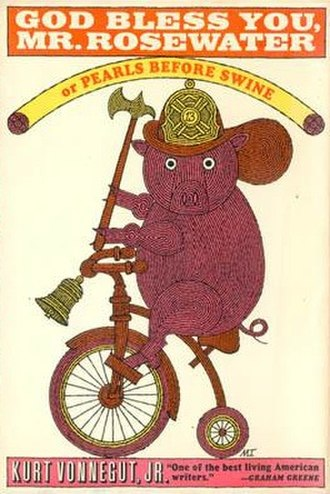 God Bless You, Mr. Rosewater - Cover of first edition (Hardcover)