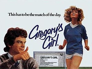 Gregory's Girl - Theatrical release poster