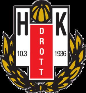 HK Drott team handball club in Halmstad, Sweden