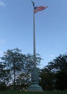 <i>World War I Memorial Flagpole</i> (Hawkins)