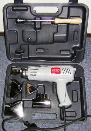 Heat gun - Commercial heat gun kit