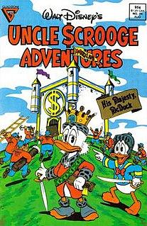 His Majesty, McDuck 1989 Uncle Scrooge comic book story by Don Rosa