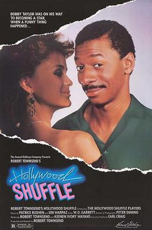 Hollywood Shuffle - Theatrical release poster